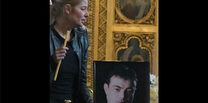 Първа снимка на Алекс Сърчаджиева след смъртта на Ласкин: Болка и ступор