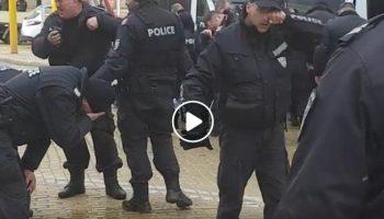 Родната полиция... плаче? (ВИДЕО)