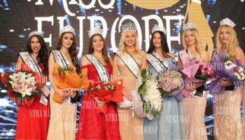 """Пиринско има повод за гордост! 24-годишната санданчанка Деяна Йорданова стана 6-та в конкурса """"Мис Европа"""" в столицата на Ливан"""