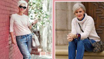 3 златни правила за носене на дънки за жени над 40. Наистина ще ви направят да изглеждате по- млади