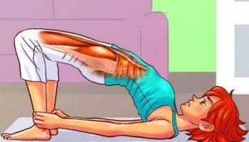 10 прости упражнения, които са специално предназначени за здравето на жените и всеки може да ги прави (снимки)