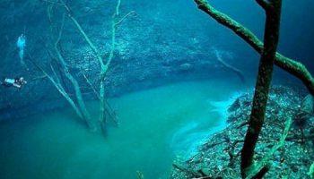 Подводна река тече на дъното на Черно море