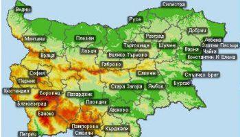 """""""Картата на България с новите имена"""""""