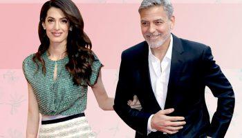 """""""Красиви родители-красиви деца-За пръв път от две години направиха снимка на момчето на Джордж и Амал Клуни"""""""