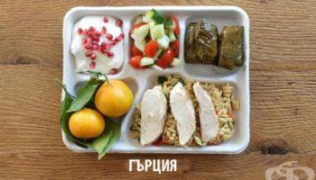 Как изглежда училищният обяд в различните държави